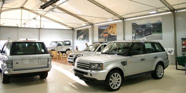 Showroom - Land Rover